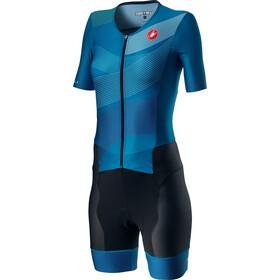 Castelli Free Sanremo 2 Combinaison manches courtes Femme, multicolour/marine blue